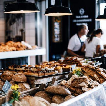 frische Backwaren der Bäckerei Geißler